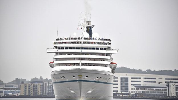 Krydstogtskibe sviner i Aalborg Havn: Se hvordan politikerne vil løse problemet