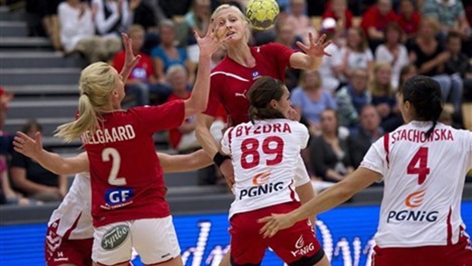 Rikke Skov stopper på landsholdet. Foto: Scanpix