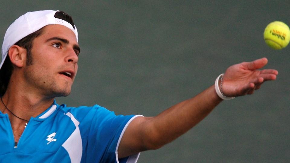 Italieneren Daniele Bracciali blev sidste år idømt en hård straf for matchfixing.