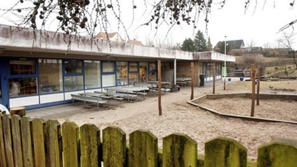 Dagene er talte for den nuværende børnehave i Øster Hornum. Udvalg vil bygge nyt for seks millioner kroner. Arkivfoto: Lars Pauli