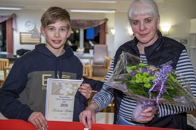 Frederik er Årets Idrætstalent i Vesthimmerland