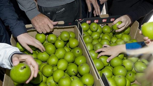 Pærer med pesticider solgt mange steder