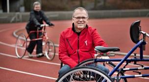 Jan vil sprede glæde - og motion til alle