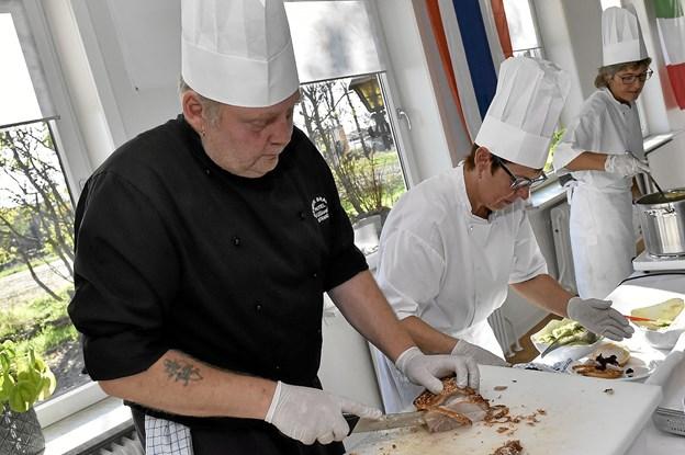 Køkkenchef Henrik Brasch. Foto: Ole Iversen
