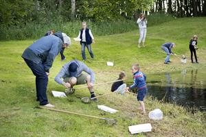 Naturaktiviteter til Vejlernes Dag: - Børnene ligner jo en million, når de har fanget en fisk
