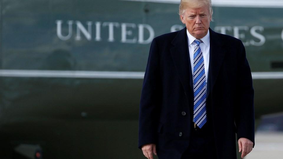 USAs præsident, Donald Trump, har udstedt en ordre om - med få undtagelser - at forbyde transkønnede personer at tjene i det amerikanske militær. Foto: Reuters/Joshua Roberts