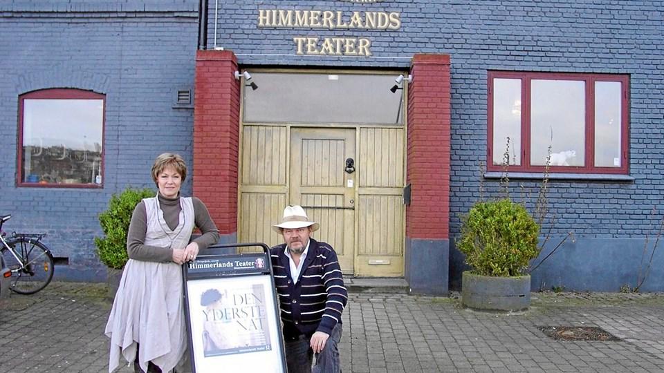 Den kunstneriske leder af Himmerlands Teater, Susanne Sangill, har instrueret kærlighedsdramaet, og Finn Hviid Bredal spiller maleren P. S. Krøyer.  ?Privatfoto