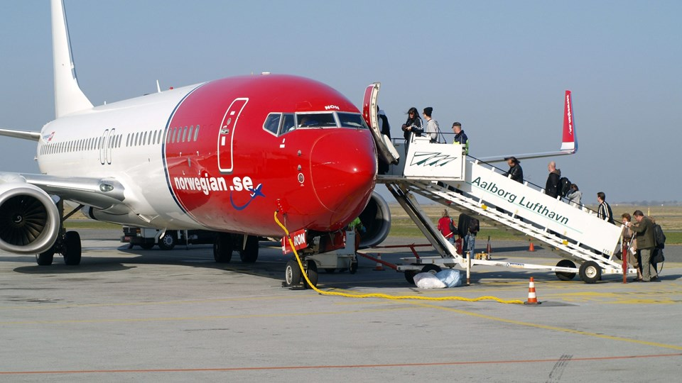 Norwegian øger antallet af flyafgange fra Nordjylland til Malaga i sit vinterprogram. Arkivfoto