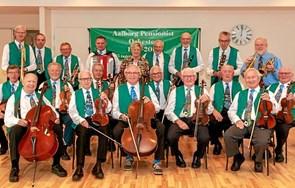 Pensionistorkester fra Aalborg gæster KulturStationen i Skørping