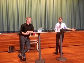 Politisk debat for VUC-kursister