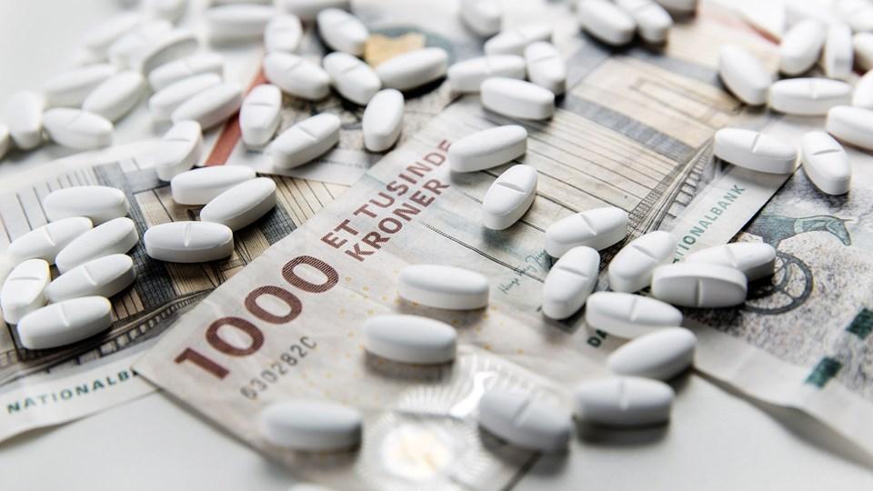 Regionernes indkøbsorganisation, Amgros, har indgået en aftale med medicinfirmaet Vertex om indkøb af medicin til behandling af cystisk fibrose. Foto: Thomas Lekfeldt/arkiv/Ritzau Scanpix