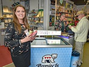 Boghandler - nu med med kaffe, is og kage