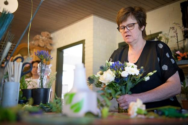 På Østerbakken bliver der både blomsterbutik og frisørsalon.Foto: Bo Lehm