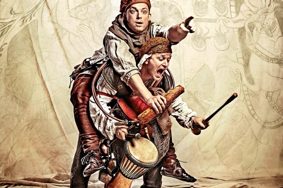 Til maj kan 4000 børn se frem til en lignende forestilling fra Himmerlands Teater. Her er det Grevens Fejde. Foto: Emilia Terese
