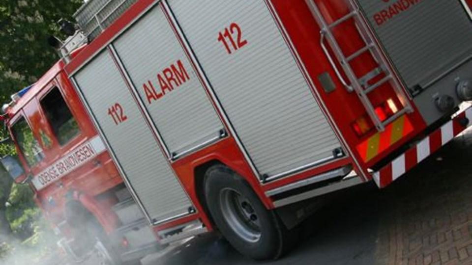 20 indsatte blev kortvarigt evakueret, da der udbrød brand i Odense Arrest. En indsat er bragt til sygehuset, men er uden for livsfare. Foto: Free/Colourbox/arkiv
