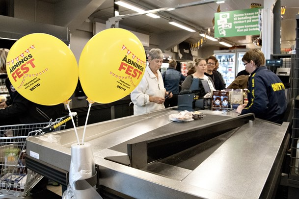 Netto åbner i Vrå med et nyt butikskoncept