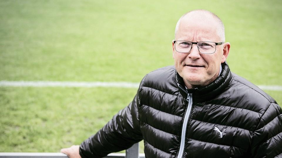 Sportsdirektør Jesper Hansen føler, at han har opbakning til at fortsætte projektet i OB. Foto: Scanpix/Sophia Juliane Lydolph