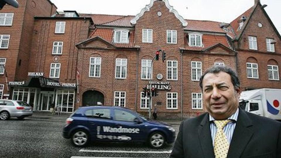 Enan Galaly befæster sin position som hotelkongen.foto: grete dahl