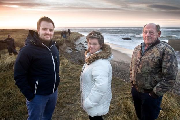 –  Vi kendte risikoen for erosion: Else og Jørgen vil gerne betale - men ikke for kommunens grund