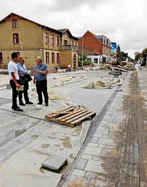 Det store projekt i Slotsgade snart klar til indvielse