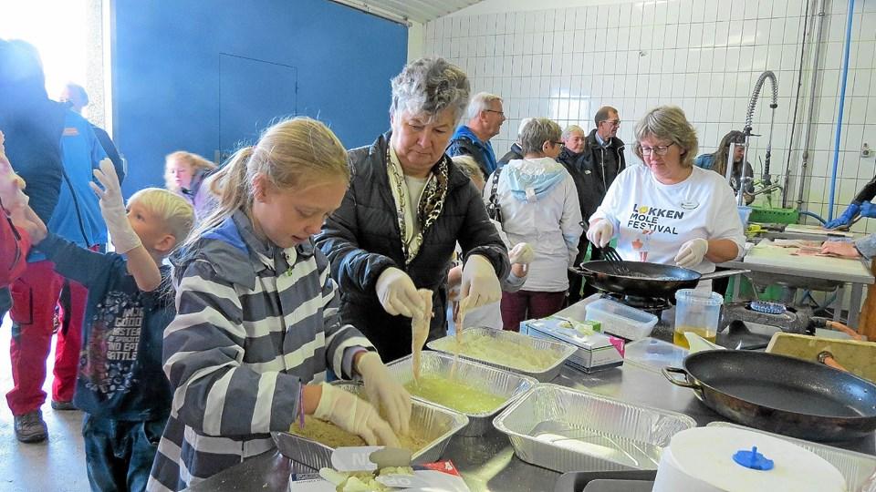 Fiskernes Hus fungerede perfekt som ramme om en madlavningsworkshop. Foto: Kirsten Olsen