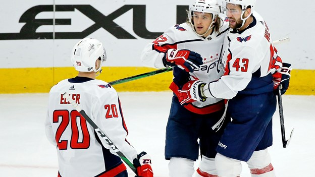 Lars Eller lukker målfest i Washington-sejr i NHL