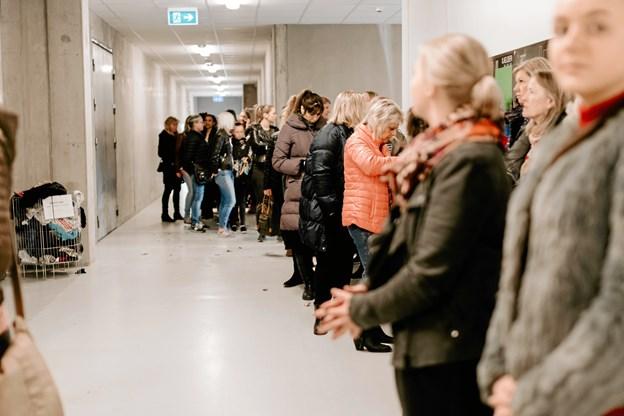 Da der sidst var Mega Kup! i Aalborg var køen lang, og 600 mennesker lagde vejen forbi med håbet om at gøre et godt køb. Foto: PR-foto EMILY PACIS