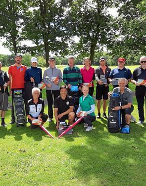 Proens match var populær i Aabybro Golfklub