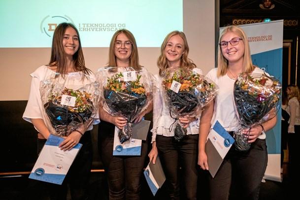 Dygtige HHX'ere fik pris af Frederikshavns borgmester