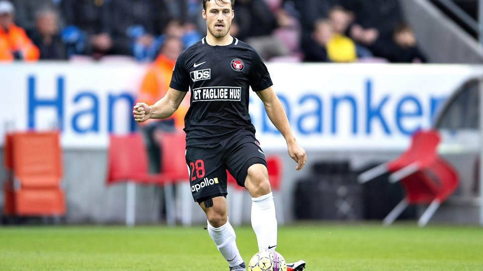 Erik Sviatchenko boede hjemme ved klubbens nye cheftræner, Kenneth Andersen, da Sviatchenko som ungdomsspiller skiftede til FC Midtjylland. Foto: Henning Bagger/Ritzau Scanpix