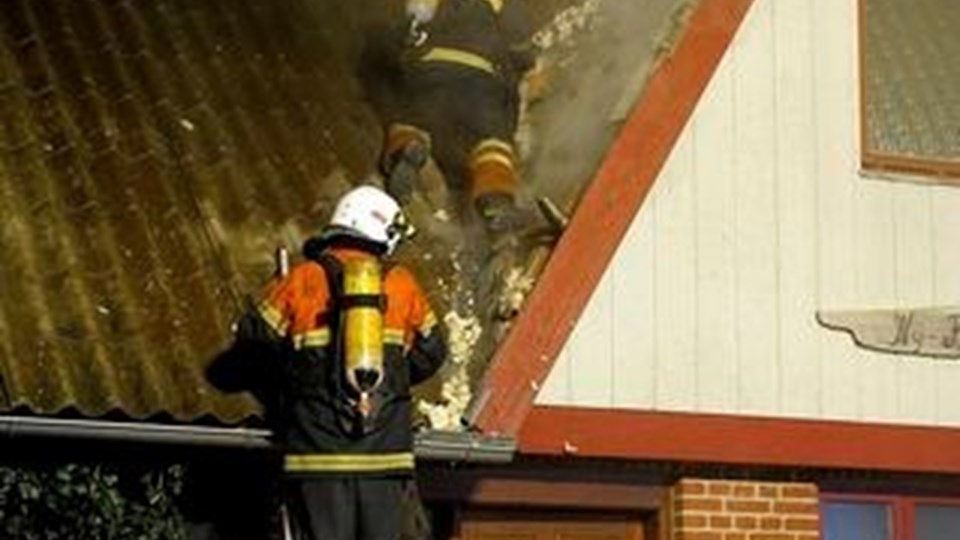 Branden onsdag aften i det socialpædagogiske opholdssted, Ny Kortegård, blev ikke den eneste kedelige oplevelser for beboerne. Natten til fredag blev der begået indbrud.Arkivfoto: Peter Mørk