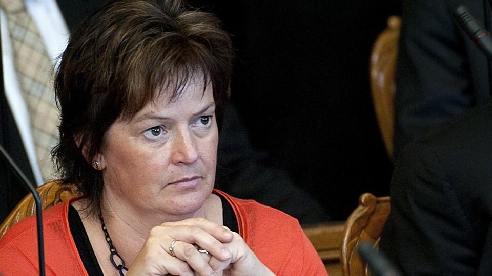 Venstres undervisningsordfører Anni Matthiesen vil have landets 10. klasser til at flytte ind på erhvervsskolerne. Socialdemokratiet synes, at det er en fin ide. Foto: Keld Navntoft, Ritzau Scanpix