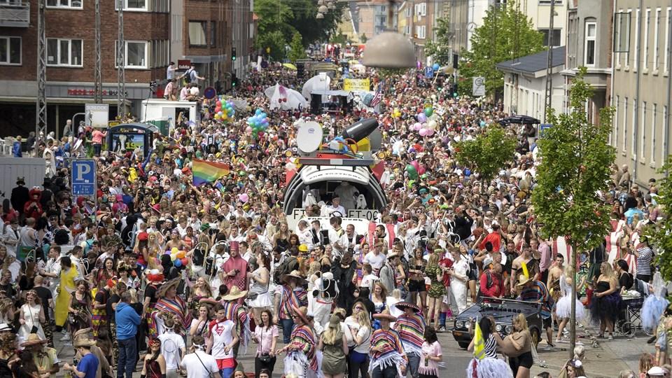 30.000 har købt armbånd til dette års karneval. Det er 5000 flere end sidste år. Foto: Claus Søndberg