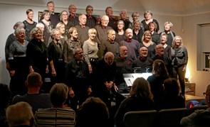 Mange til julekoncert i Bønnehuset