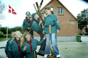 Familiegudstjeneste med spejdere i Vrå