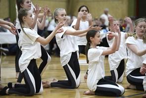 Gymnastikopvisning i Jerslev
