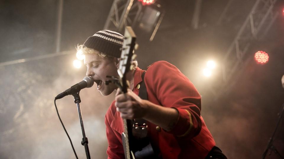 Hjalmar skal optræde i Tivoli til arrangementet Lillefredag. Foto: Scanpix/Sarah Christine Nørgaard
