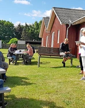 Besøg NORDJYSKE bussen ved turistkontoret i Øster Hurup
