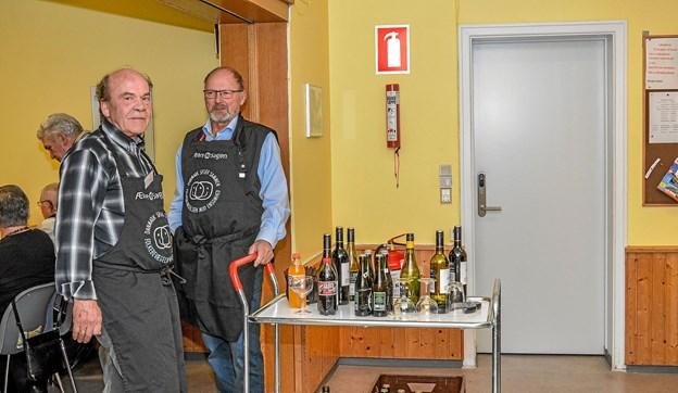 Der var mulighed for at købe drikkevarer til fornuftige priser. Foto: Mogens Lynge