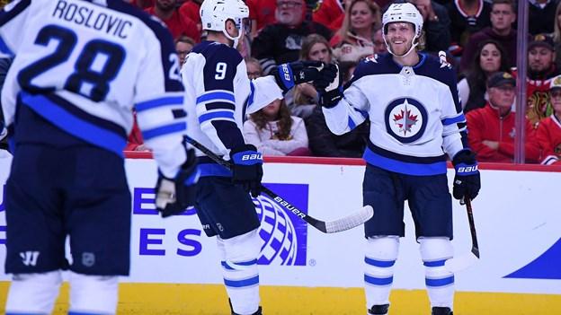 Ehlers fører an i stærkt comeback for Winnipeg i NHL