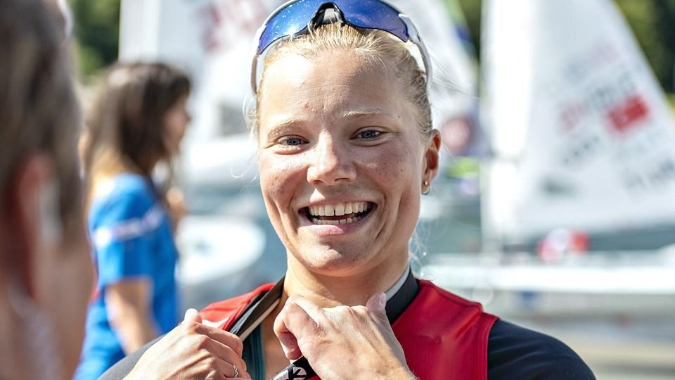 Anne-Marie Rindom blev europamester i sikker stil.