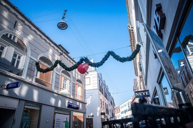 Julepynten er valgt er flere tusind af byens borgere, der deltog i en afstemning på Facebook.Arkivfoto: Martin Damgård