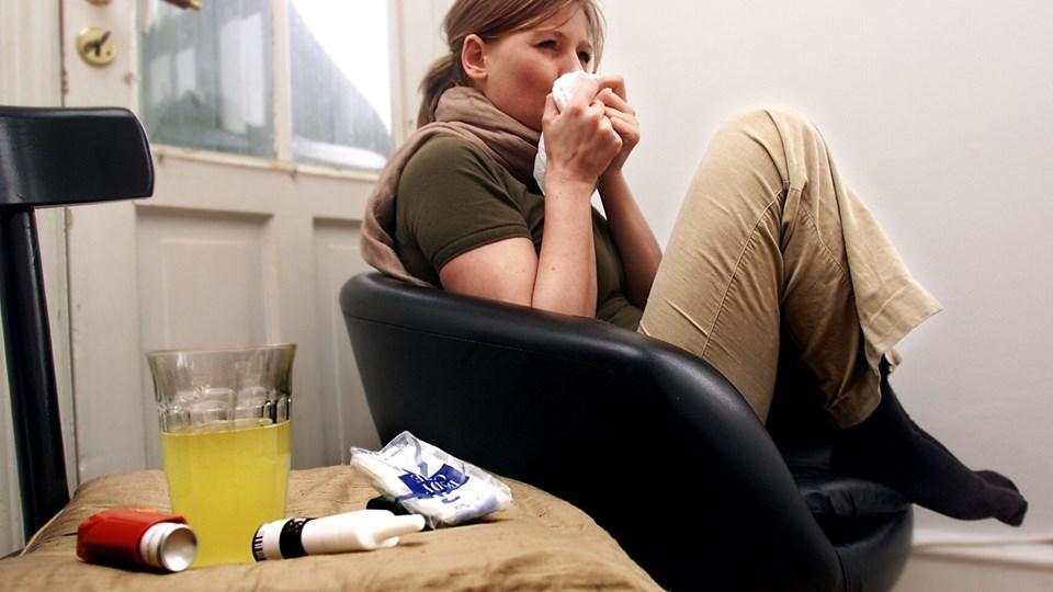 Medicinalvirksomheden ALK har udviklet en vaccinetablet, der kan behandle træpollenallergi. De håber, at tabletten kan tages i brug i Europa i løbet af 2019. Arkivfoto: Maria Hedegaard, Ritzau Scanpix