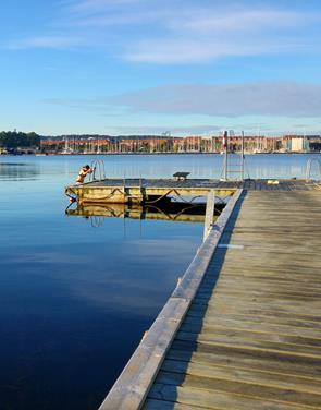 Skal du i vandet? Nu får Nørresundby sin badebro