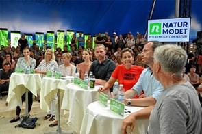 Partilederdebat i valgkampens tegn