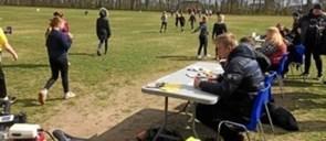 Skoleelever løb for lungesyge børn
