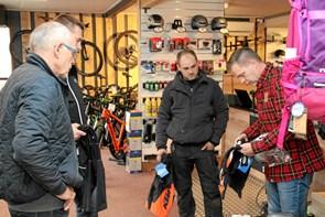 Nytårskur hos cykelhandleren
