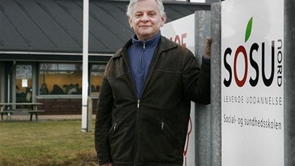 Byrådet forventes at sige ja til at Hedevold 11 sælges. Her har SOSU Nord lejet sig ind På billedet afdelingsleder Jens Bols. Arkivfoto: Bent Bach