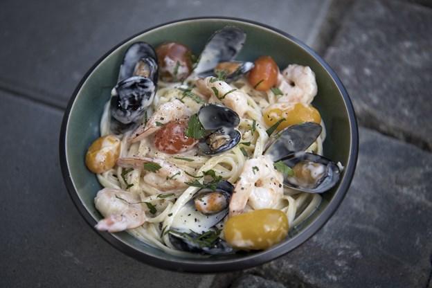 Mike Luca laver mad efter sin bedstemors opskrifter, og det blev taget godt imod på Aalborg Streetfood.