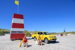 Her er livreddere klar ved de nordjyske strande